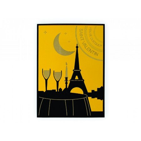 Quadro Decorativo Alto Relevo Laca Veuve Clicquot Paris