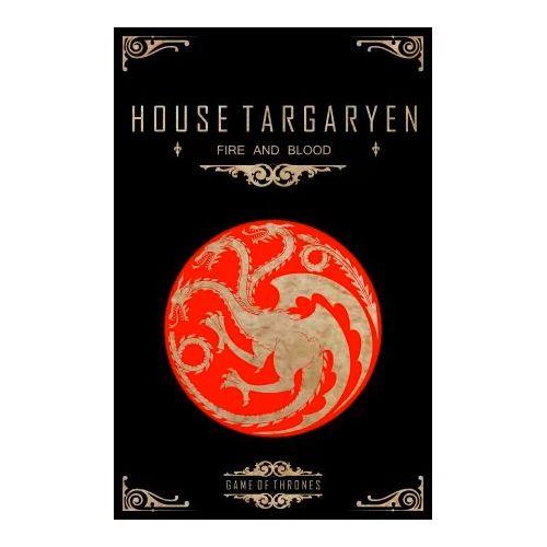 Quadro Decorativo Alto Relevo Laca Game of Thrones Targaryen
