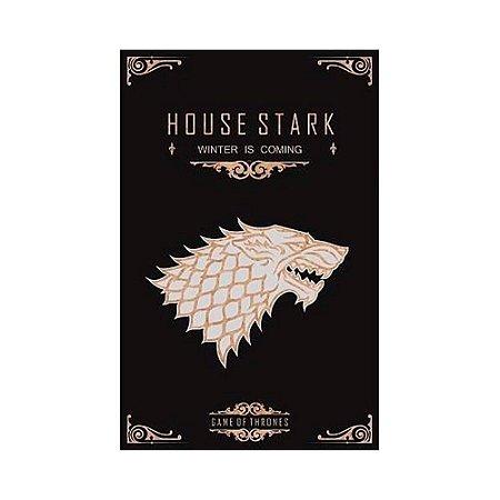 Quadro Decorativo MDF Alto Relevo Game of Thrones Stark