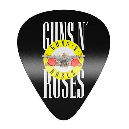 Placa Decorativa MDF Alto Relevo Laqueada Guns N' Roses
