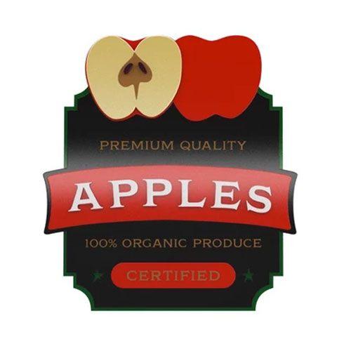 Placa Decorativa MDF Alto Relevo Apples