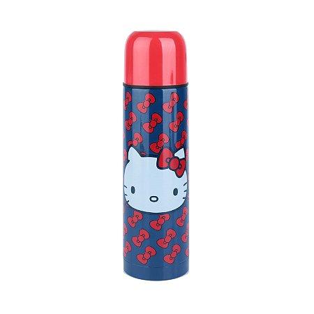 Garrafa Squeeze Térmica Inox Hello Kity Little Laces 500ml