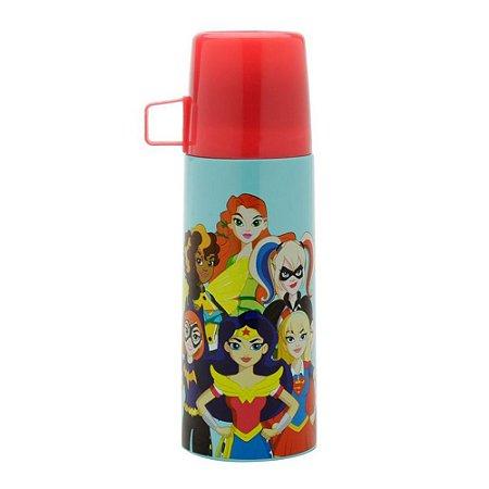 Garrafa Squeeze Térmica Inox DC Heroes Girls 350ml