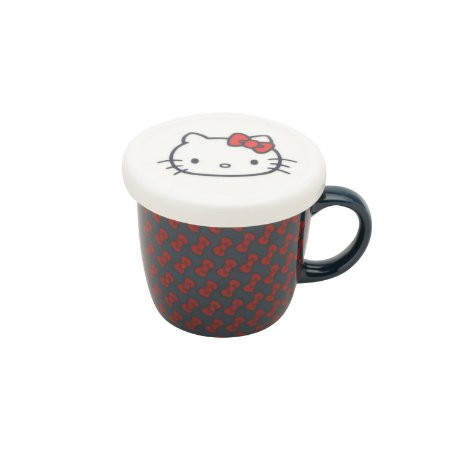 Caneca com Tampa Personalizada Hello Kitty Laces 330ml