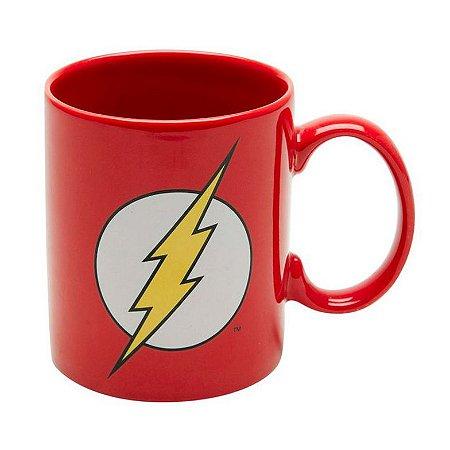Caneca Geek de Cerâmica DC Comics Flash 300ml