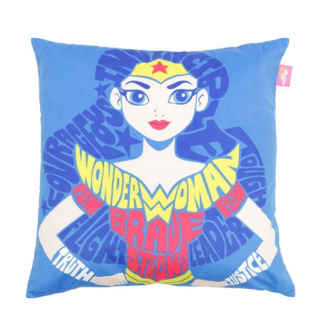 Capa de Almofada DC Comics Wonder Woman Strong 45x45cm