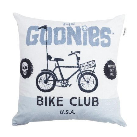 Capa de Almofada Os Goonies Bike Club 45x45cm