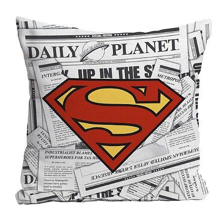 Capa de Almofada DC Comics Superman Logo 45x45cm
