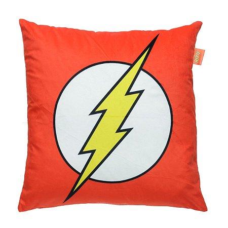 Capa de Almofada DC Comics Flash Logo 45x45cm