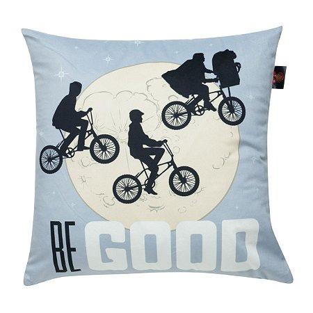 Capa de Almofada ET Bike And Moon 45x45cm