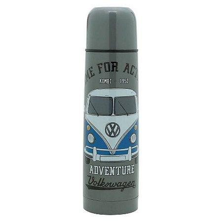 Garrafa Squeeze Térmica Inox VW Kombi Adventure 500ml
