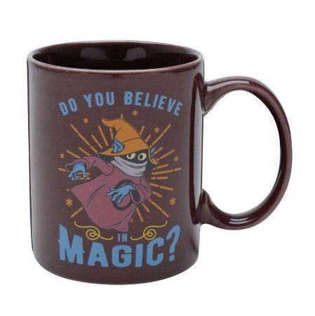 Caneca Porcelana Geek Mestres do Universo Gorpo Magic 300ml