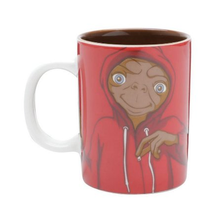 Mini Caneca de Porcelana ET Extraterrestre Red Cap 135ml