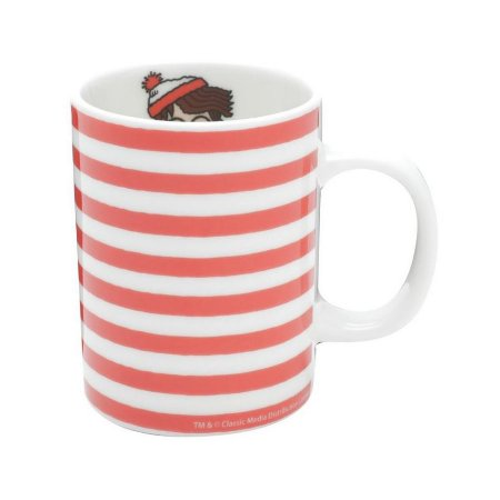 Mini Caneca de Porcelana Onde Está Wally 135ml