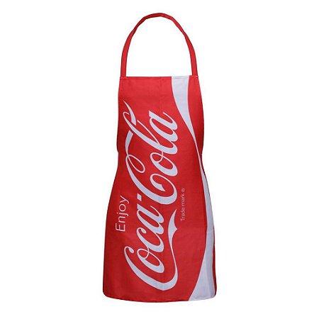 Avental de Cozinha Criativo Coca-Cola Enjoy Vermelho