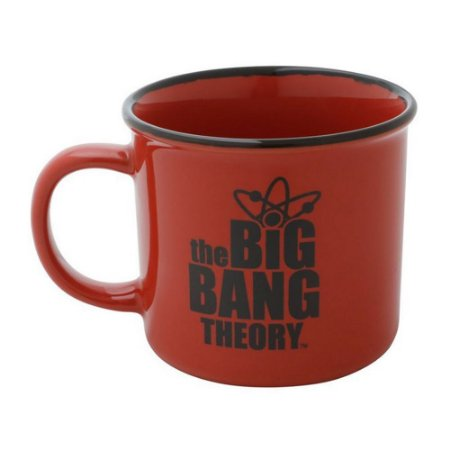 Caneca Porcelana Geek The Big Bang Theory 380ml