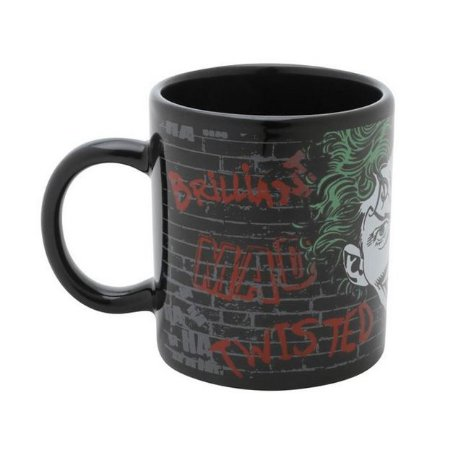 Mini Caneca Geek DC Comics Joker Mad 140ml