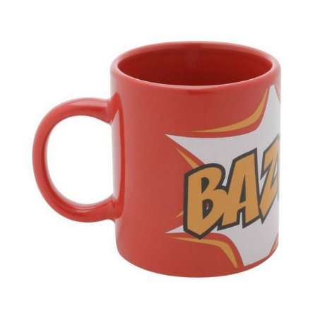 Mini Caneca Geek Bazinga The Big Bang Theory 140ml