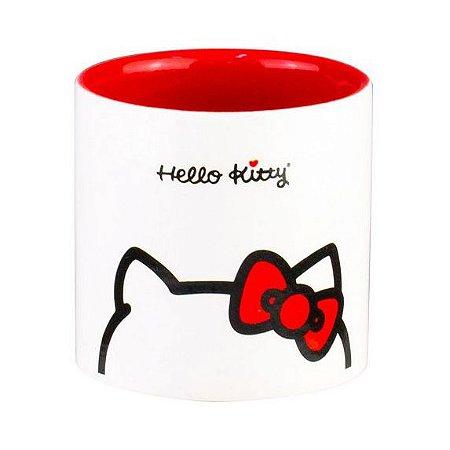 Cachepot Decorativo de Cerâmica Hello Kitty