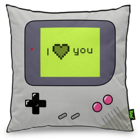 Almofada Gamer Boy I Love You 40x40cm