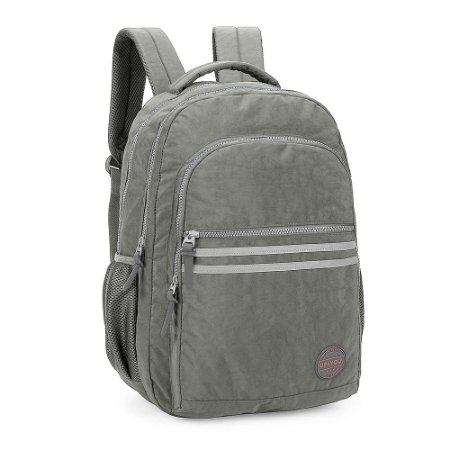 Mochila Masculina Notebook Up4you Original Design Cinza
