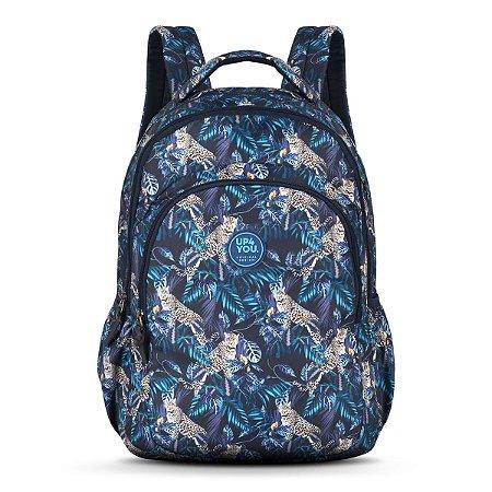 Mochila Notebook Adulto Juvenil Up4you Azul