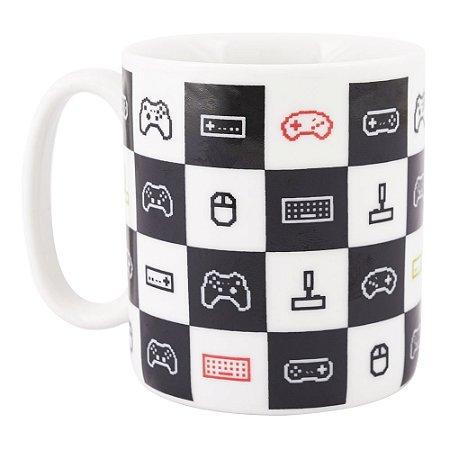 Caneca Cerâmica Game Geek 300ml