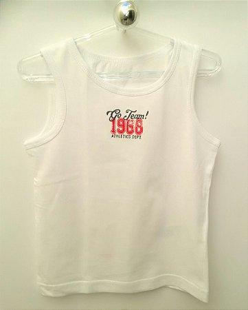 Regata Infantil Masculina Branca Athletics 1968 Primark
