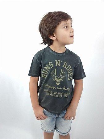 Camiseta Infantil Importada Zara Boys Guns N' Roses