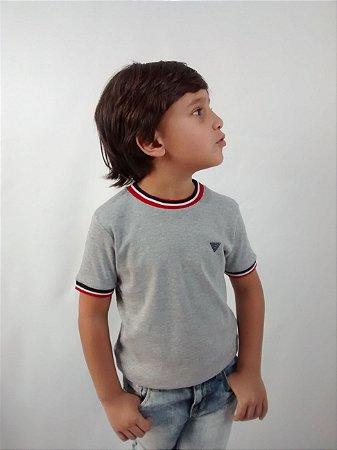 Camiseta Infantil Masculina Importada Rebel by Primark Cinza Color