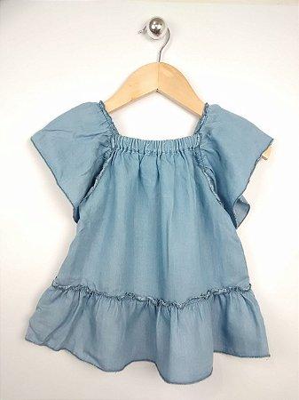 Vestido Infantil Jeans Bata Zara Baby Girl