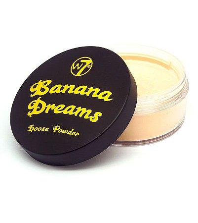 Pó facial Banana Dreams W7 Importado