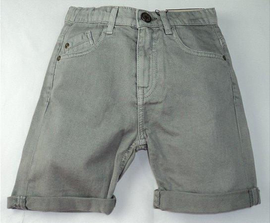 Bermuda Infantil Jeans Cinza Zara