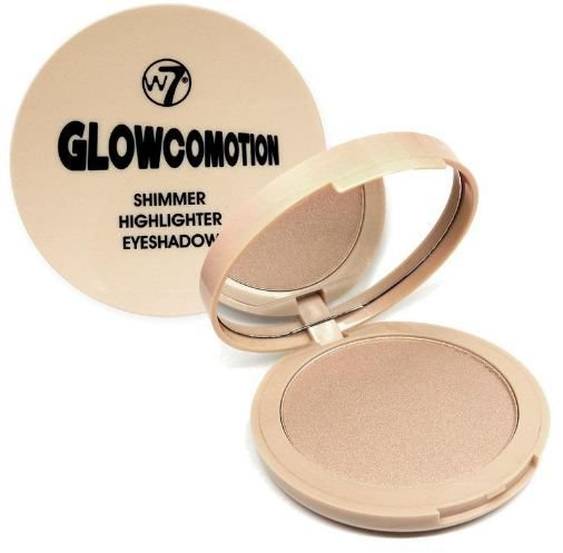 Iluminador Glowcomotion Shimmer Highlighter Eyeshadow w7