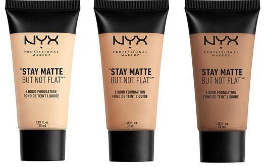 Base Nyx Stay Matte But Not Flat