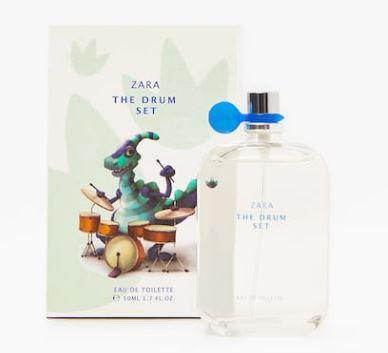 Perfume Infantil Zara The Drum Set