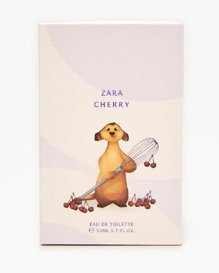 Perfume Infantil Zara Cherry