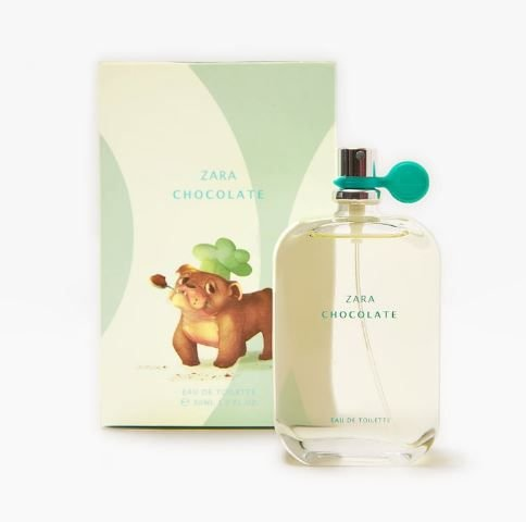 Perfume Infantil Zara Chocolate