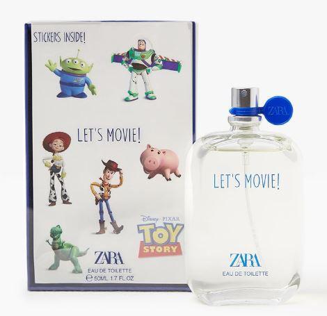 Perfume Infantil Toy Story Zara