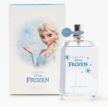Perfume Infantil Frozen Zara
