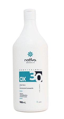 ÁGUA OXIGENADA 30 VOLUMES NATIVA - 900ML