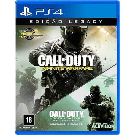 Call of Duty Infinite Warfare - Edicação Legacy com CoD MW - PS4