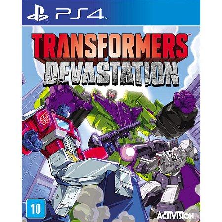 Transformers Devastation - PS4