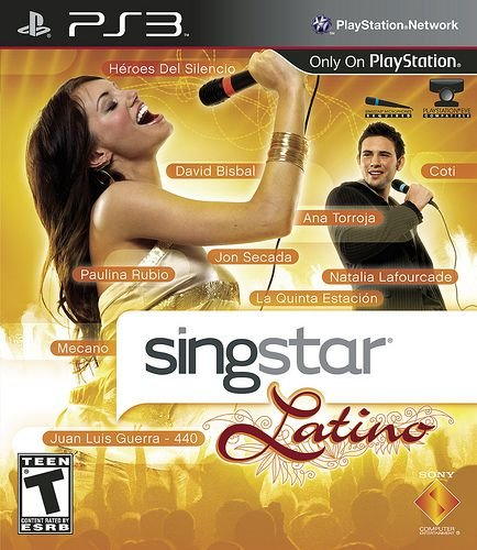 Singstar Latino (Somente o jogo) - PS3