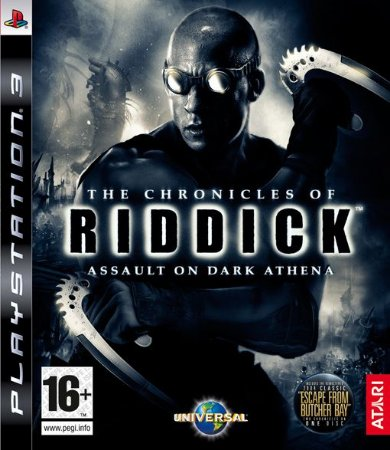 The Chronicles Of Riddick Dark Fury - PS3