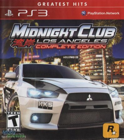 Midnight Club Los Angeles Complete eEdition - PS3