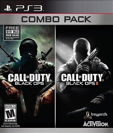 Combo Call Of Duty - Black Ops I & II - PS3