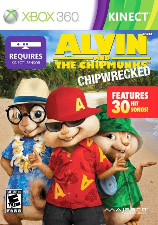 Alvin And The Chipmunks Chipwrecked - Xbox 360