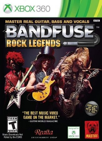 Bandfuse Rock Legends - Xbox 360