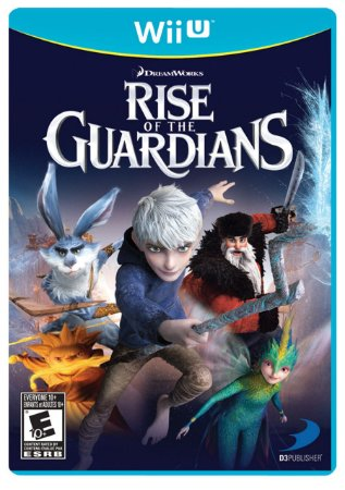 Jogo Rise Of The Guardians - Wii U